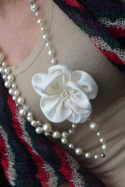 Pic4- Flower necklace