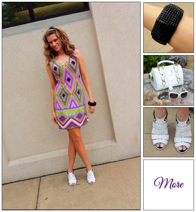 Psychedelic Vibe :: Geometric Tunic & Versace