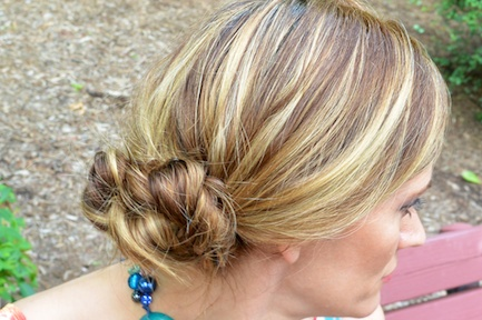Pic 9- Diamondleone.com-quick and easy summer braids