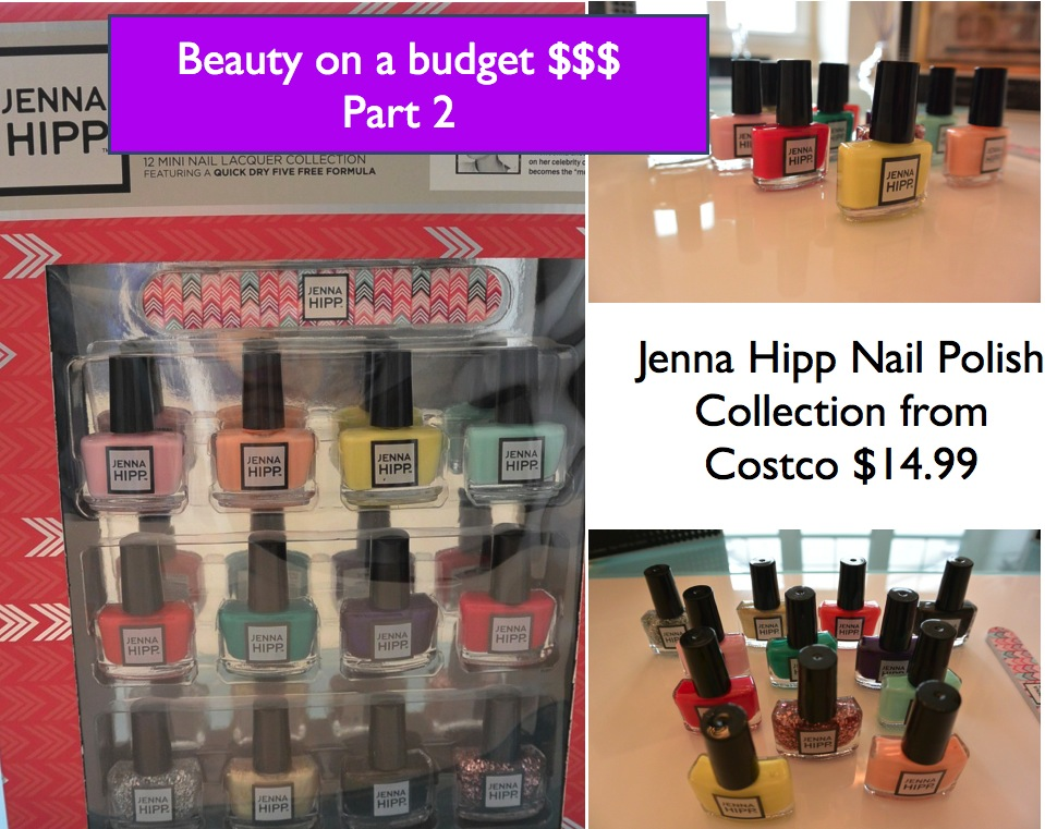 "Beauty Video :: ""Beauty on a Budget – Part 2"" –Jenna Hipp Nail Polish Collection"