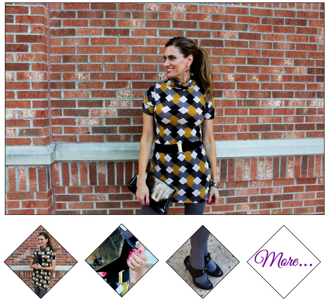Schools in Session :: Argyle Dress & Talented Pumps