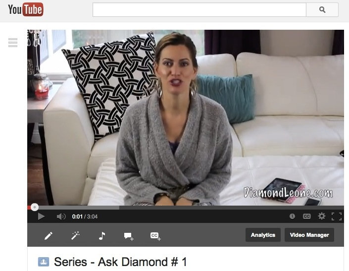 Video ::  Ask Diamond & 100th Blog Post on DiamondLeone.com!!!
