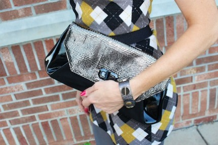 diamondleone.com - Nine west black clutch