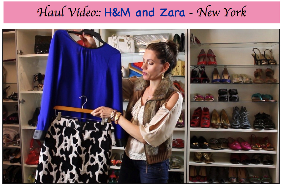 Haul Video :: NY Shopping Trip – Zara and H&M