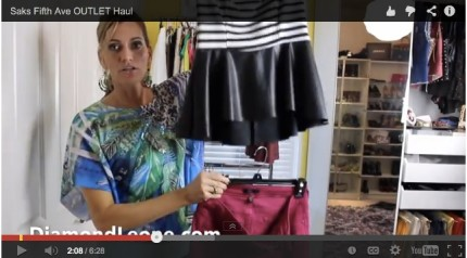 Haul Video :: Saks Fifth Avenue Outlet