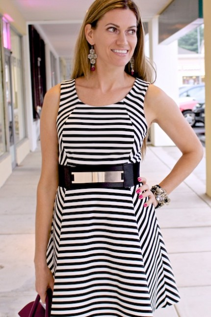 DiamondLeone.com - Striped Dress from Express 5