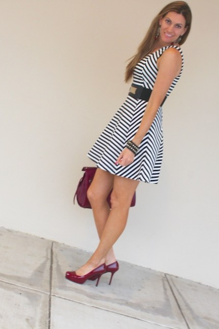 DiamondLeone.com - Striped Dress from Express 7